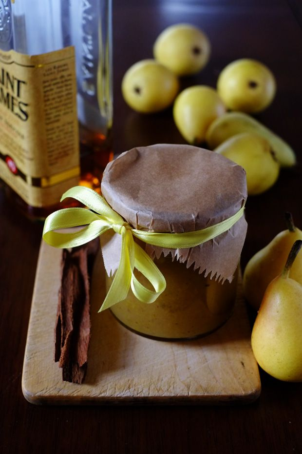 Marmellata di pere, cannella e rhum - GranoSalis - Blog di cucina naturale e consapevole