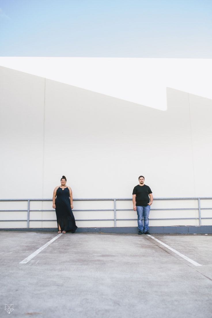 Maddy + Chris | Romantic city engagement session | White Fox Studios