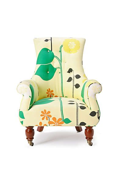 Anthropologie Astrid Chair Helsinki Floral Home