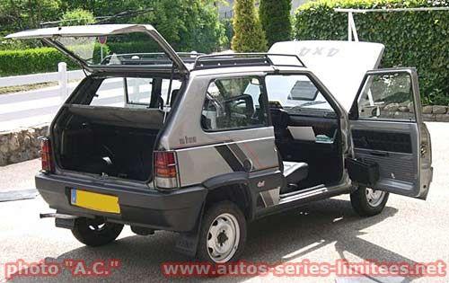 Les Fiat séries spéciales.