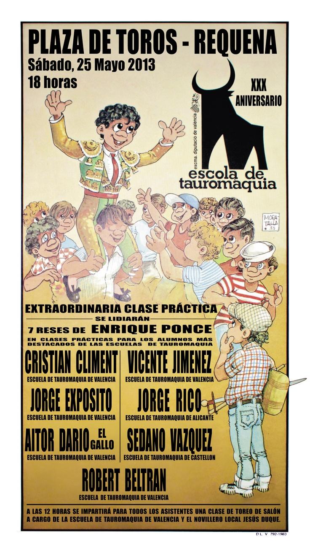 X aniversario de la escuela de tauromaquia de Valencia