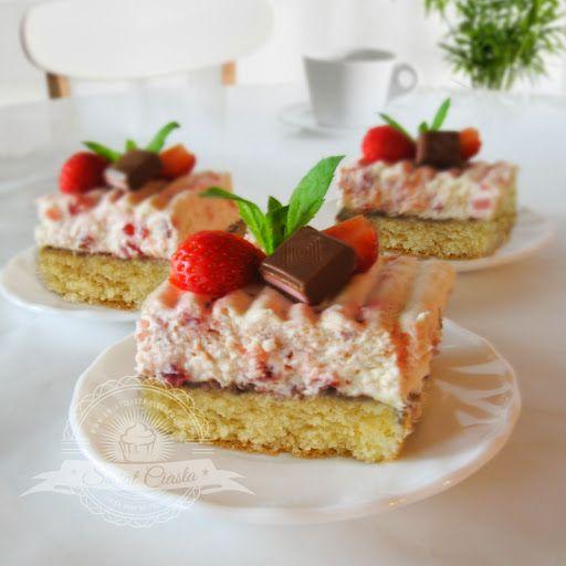 Krajanka truskawkowa | Świat Ciasta