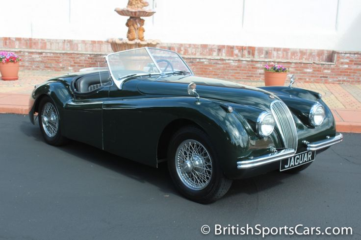 1954 Jaguar XK 120 SE / British Sports Cars / San Luis Obispo / CA / 93401