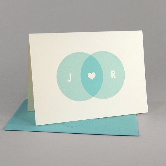 Perfect for thank you notes, or invite inspiration: SilhouetteBlue personalized stationery set, $25