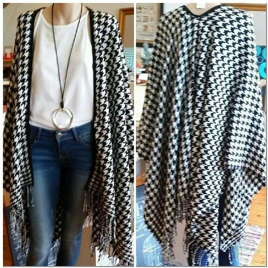 Black & White Wrap @Stylehaus Boutique