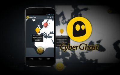 CyberGhost VPN anonymous internet access