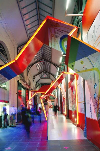 Entrance to the London Transport Museum- inside it's much much more interesting than you would think!