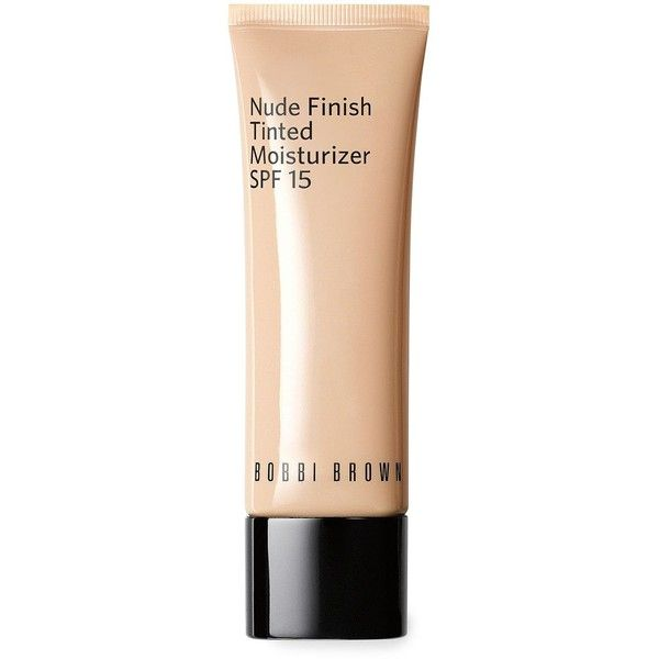 Bobbi Brown Nude Tinted Moisturizer 1.7 oz found on Polyvore featuring beauty products, makeup, face makeup, tinted moisturizer, porcelain tint and bobbi brown cosmetics