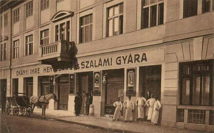 1910 körül. Retek utca 3.