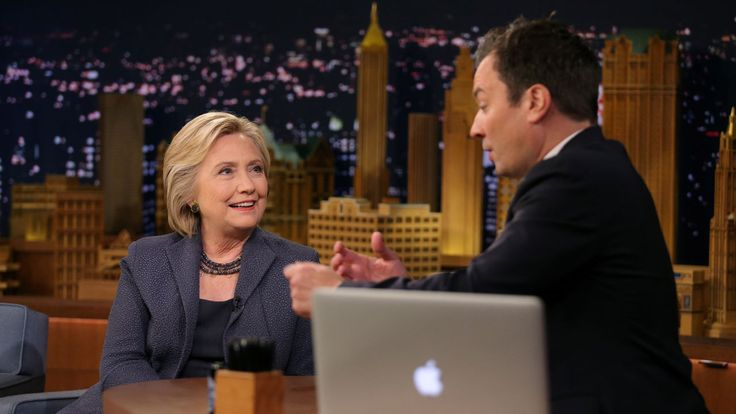 FOX NEWS: Clinton tries to tell Jimmy Fallon what happened