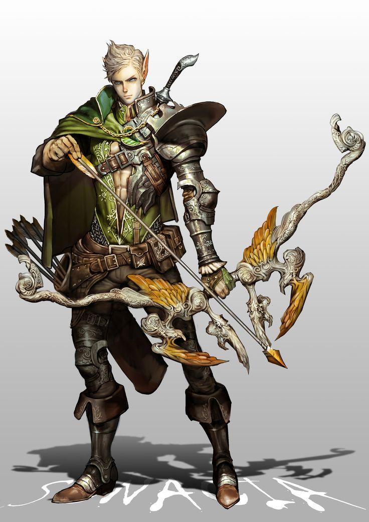 ArtStation - archer, Youngmin suh