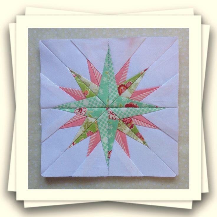 Threadbare Creations: Chatelaine- Free BOW Sampler Quilt Block 83