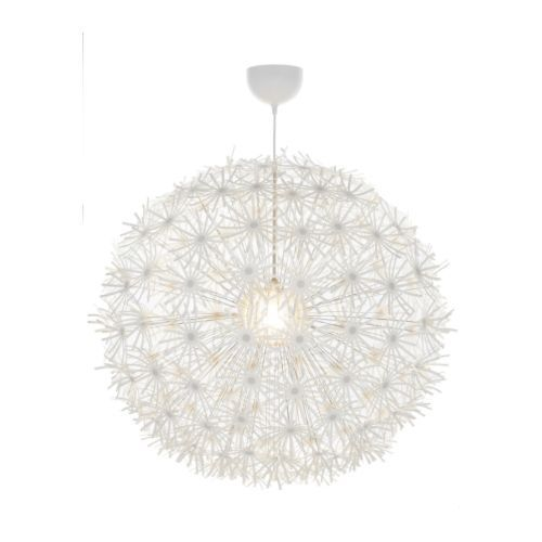 I absolutely ADORE this light.  There is something tremendously organic yet incredibly romantic about it.  I want to blow the flowers off and make a wish...#ikea $89.99 A bit expensive but sometimes the splurge is worth it.