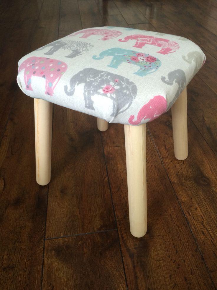 Ikea hack flisat child's stool