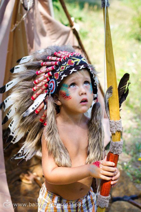 Многофотопост. Фотосессия Покахонтас!
