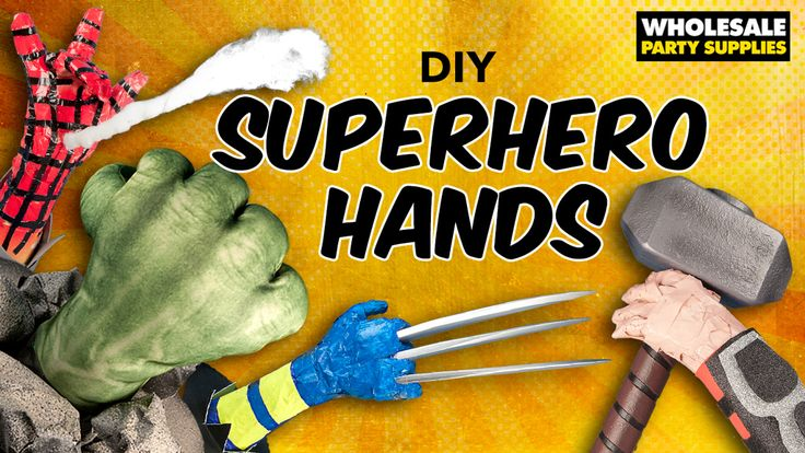 Marvel At These DIY Avengers & X-Men Party Centerpieces