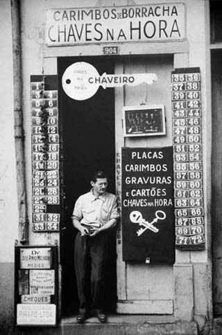 Década de 40 - Em algum lugar do passado em São Paulo. Foto de German Lorca.