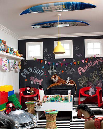 Peek Inside Kourtney Kardashian's Home - The Play Room from #InStyle