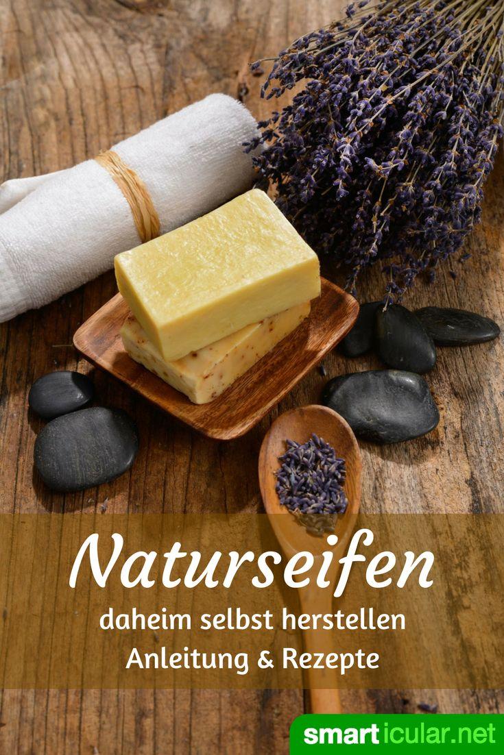Natur-Seifen selbst herstellen ist eine schöne Miischung zwischen Kunst und Wissenschaft. Finde heraus, wie du deine eigenen Seifen kreieren kannst!