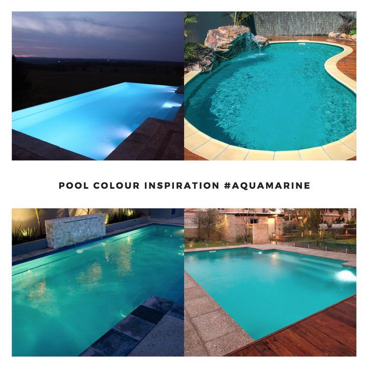 Leisure Pools Colour Inspiration - Aquamarine  #lifeofleisure #leisurepools #love #summer #aquamarine #swimmingpools #love