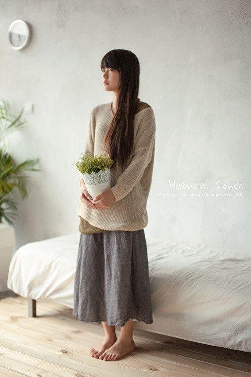 Barefoot Mori Girl