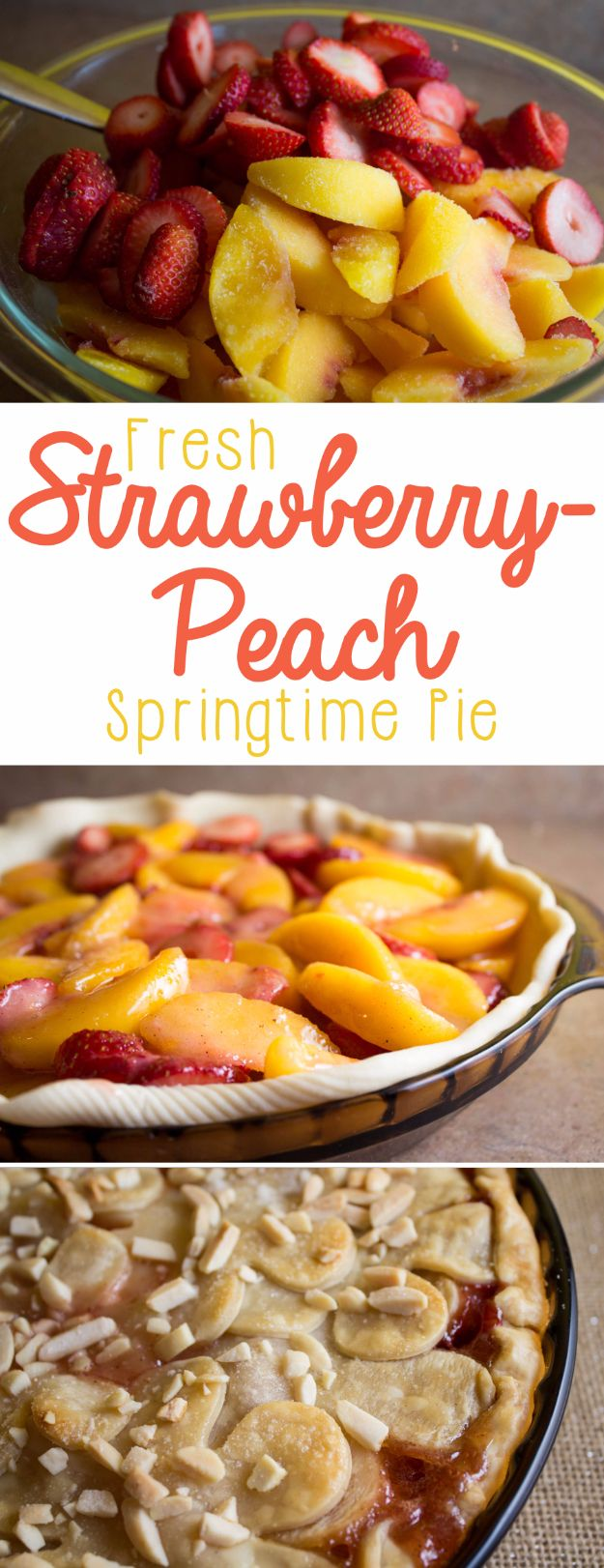Best Pie Recipes - Fresh Strawberry Peach Pie - Easy Pie Recipes From Scratch for Pecan, Apple, Banana, Pumpkin, Fruit, Peach and Chocolate Pies. Yummy Graham Cracker Crusts and Homemade Meringue - Thanksgiving and Christmas Pies and Mason Jar Pie Recipes http://diyjoy.com/best-pie-recipes
