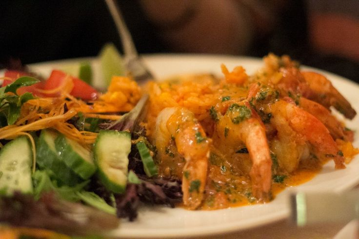Prawns Chipotle: This was our favourite dish along with the Ceviche. Nine large prawns in a generous serving with a creamy tomato chipotle chilli cream sauce with fresh lime on the side.