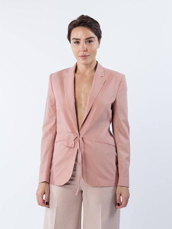 APLACE Bea Tie Front Jacket - Filippa K