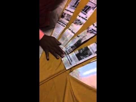 Memotong Pola Rok Payung - YouTube