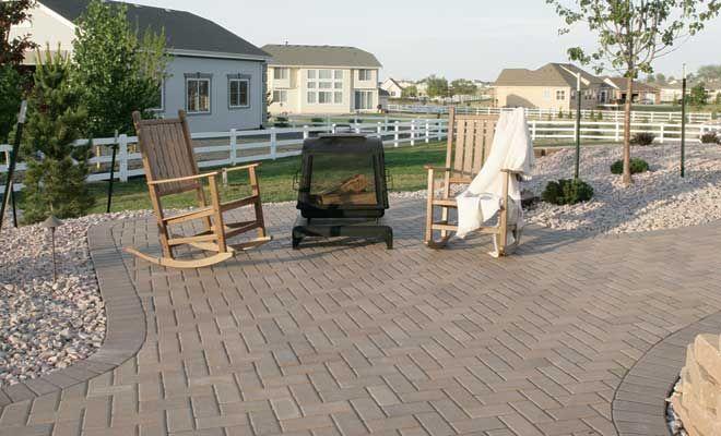 Herringbone Pavestone Pavers | Backyard Inspiration | Pinterest |  Herringbone, Holland And Patios