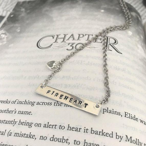 Fireheart Necklace, Celaena Sardothien Necklace, Throne of ...
