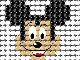 Painel de balões - Mickey / Criação - Rosilene Pereira