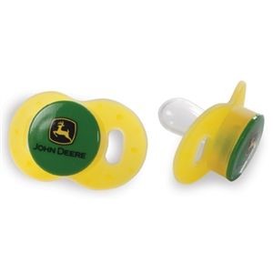 2 Pack of John Deere Pacifiers | WeGotGreen.com