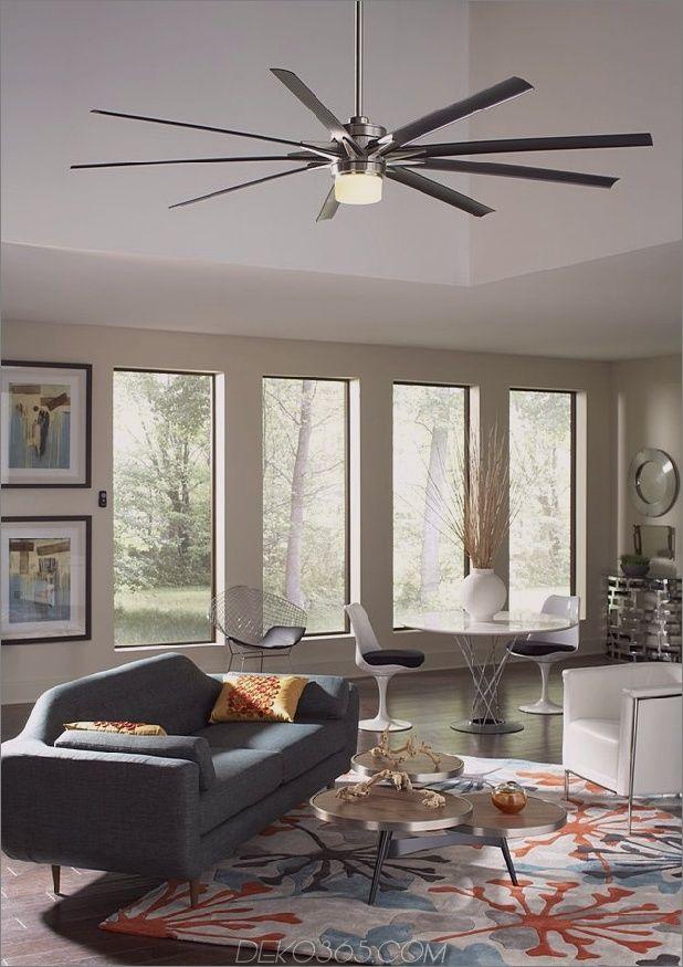 Dekorieren Mit Deckenventilatoren Ideen Pro Dies Interior Gestaltung Die Laufen Blog Deko365 Com Wohnzimmerlampe Decke Haus Deko Zeitgenossische Dekoration
