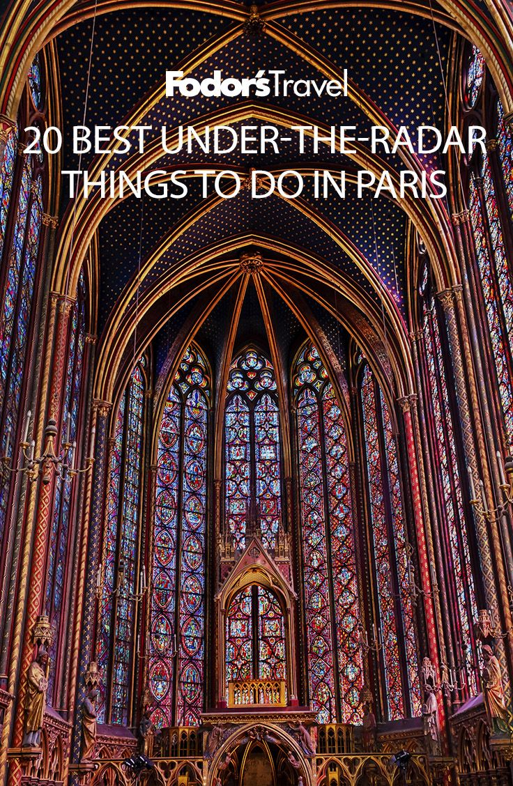 have you ever learned to cook French pastries or attended a classical music concert at a 13th-century church? On your next trip to Paris, try one of these 20 suggestions and discover Paris's off-the-beaten-path activities. #travel #paris #france