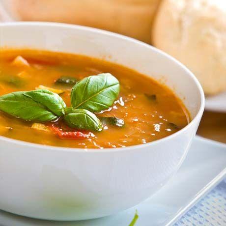 Soupe aux légumes  Saladexpress.ca