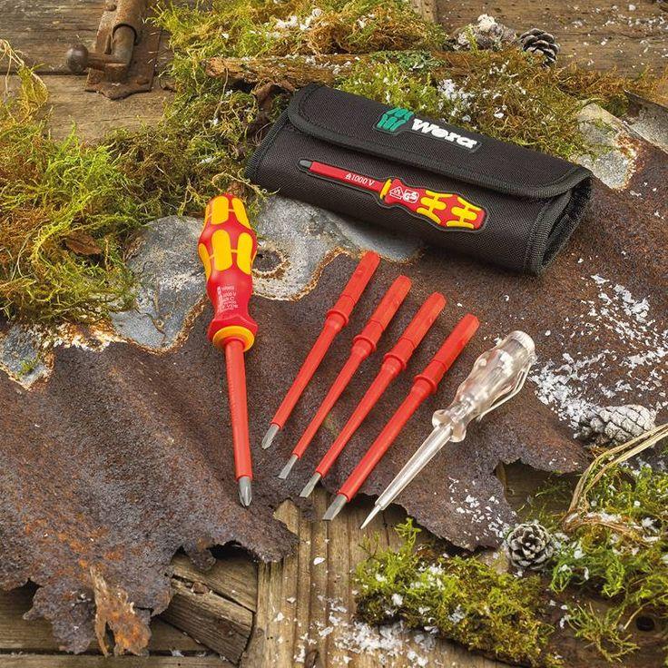 Wera 7-piece Interchangeable Vde Screwdriver Set - hand tools - screwdrivers - 7-piece Interchangeable Vde Screwdriver Set - Timber, Tool and Hardware Merchants established in 1933