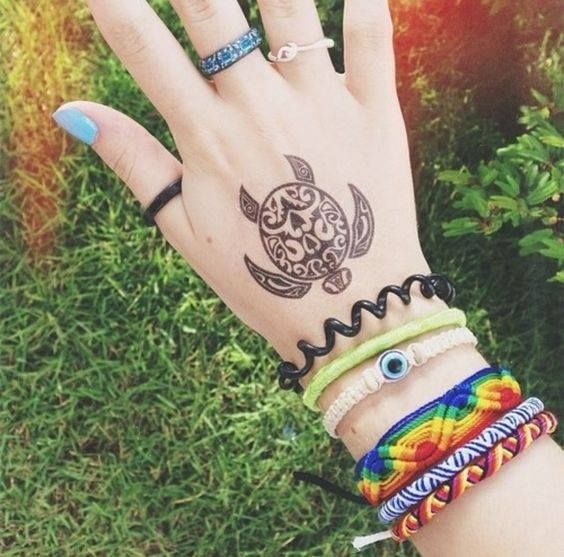 Let's take a look at a few turtle tattoos, turtle tattoos designs, turtle tattoos ideas and turtle tattoos pics and try to get inked on your body