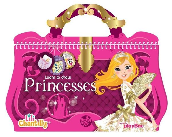 Buku Aktifitas Bahasa Inggris Learn To Draw Princess