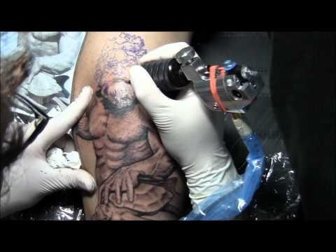 Neptune Tattoo By Joaquim Cruz Tattoo Power Portugal