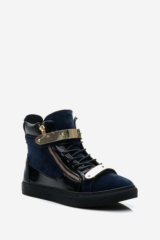 Trampki Sneakersy Joane granatowe