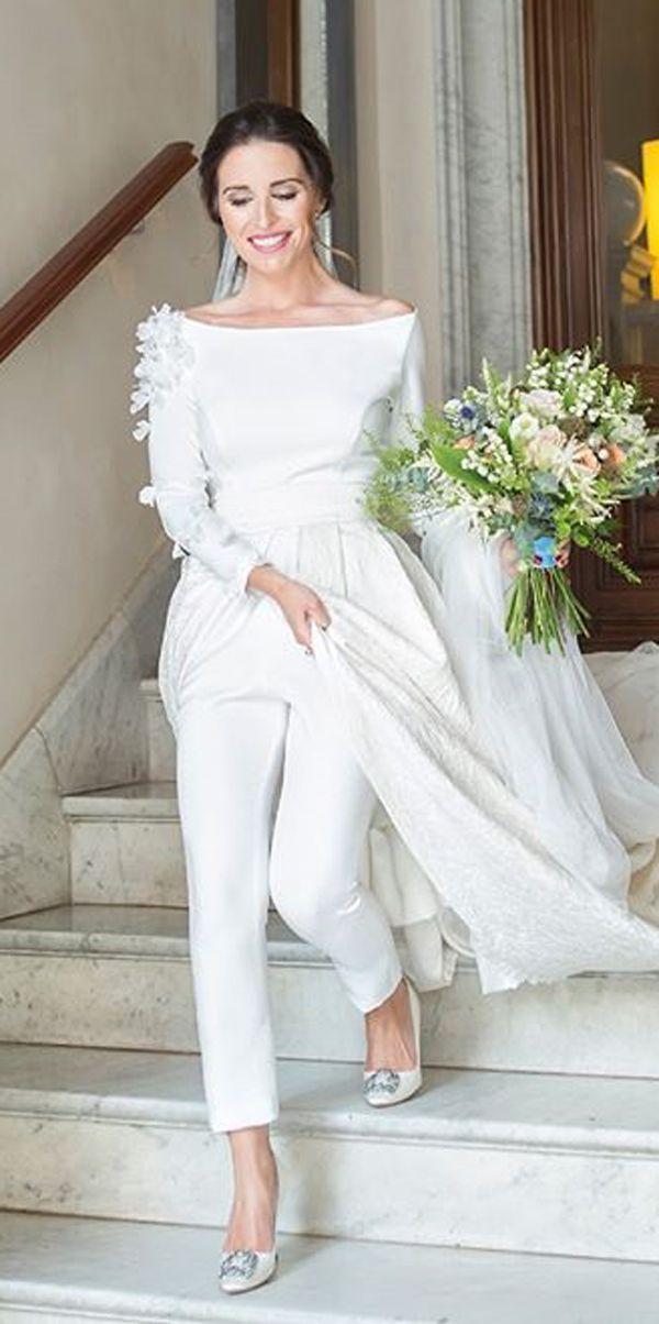 Vestido de novia campestre 2019