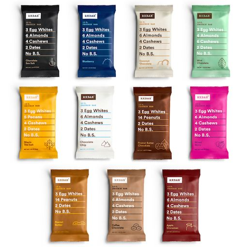 Whole Food Protein Bars with Real Ingredients | RXBAR