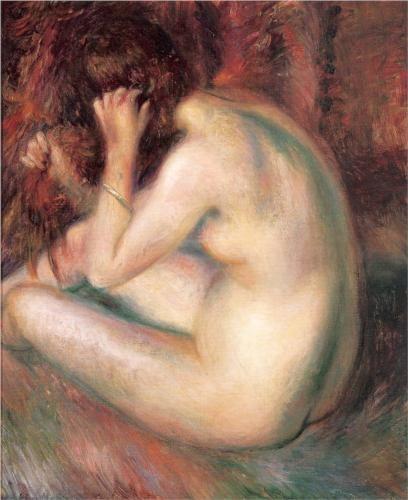 Картинки по запросу William James Glackens (1870-1938) nude