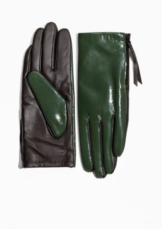 & Other Stories | Side Zip Gloves