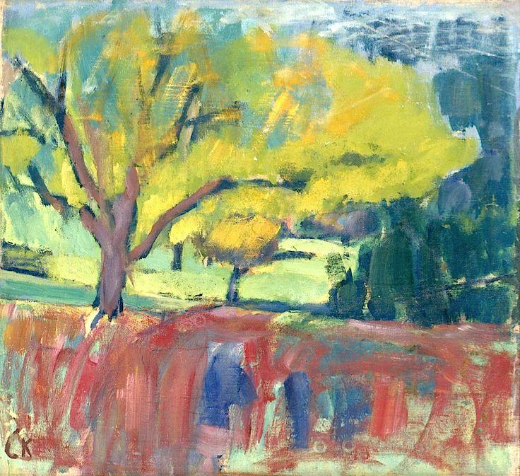 "Carl Kylberg 1878-1952 ""Fruit-tree"""