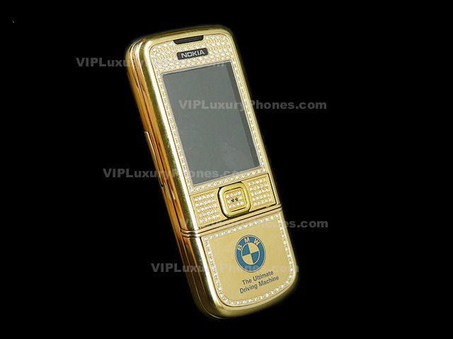 NOKIA 8800 BMW Limited Gold Cell phone