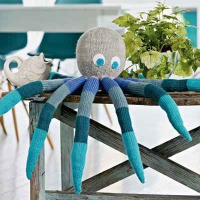 Blæksprutten Børge er så tilpas stort, at det nemt kan gå hen at blive børnenes favoritkrammedyr.