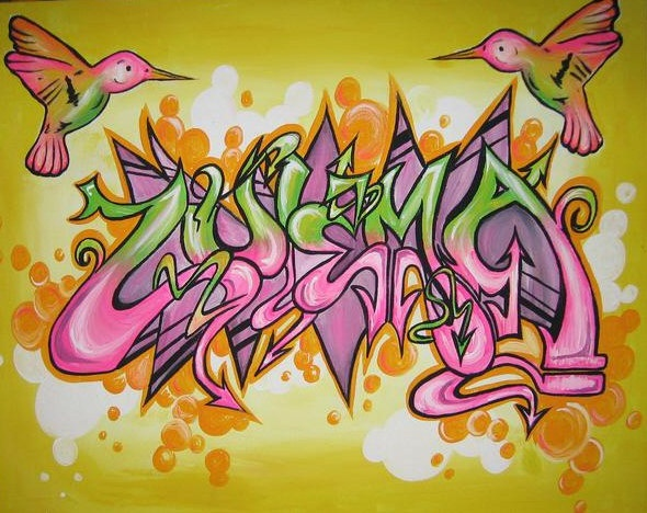 25 best images about graffiti street art ideas on for Pretty designs to paint