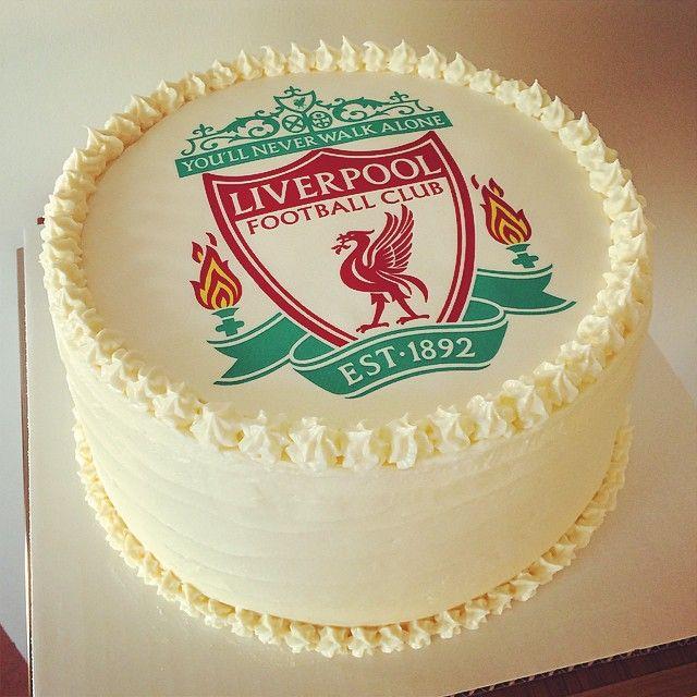 Liverpool FC Victoria sponge.